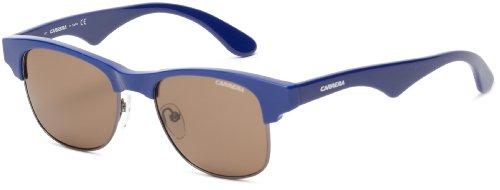 Carrera Ca6009S Rectangular Sunglasses,Semi Matte & Dark Ruthenium,51 Mm