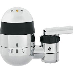 GXFM07HBL Faucet Mount Water Filtration System