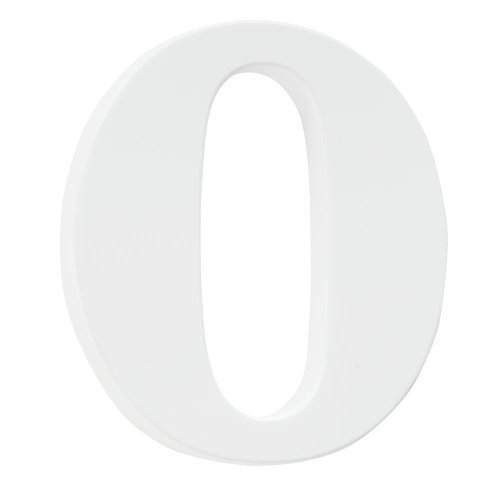 Koala Baby Lowercase Wall Letter O - White - 1