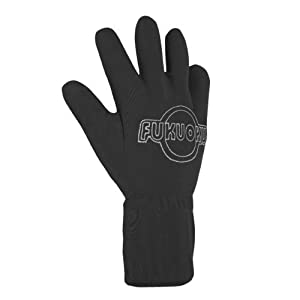 Fukuoku Black Right Hand Five Finger Vibrating Massage Glove - (fits Medium To Large Hand)
