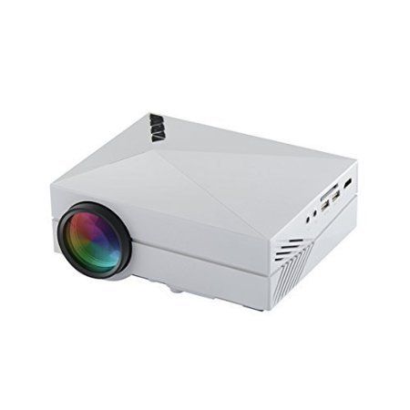 GM60 Mini LED Projector LCD 1000 Lumens Multi-media Portable Home Theatre Game Fun Projectors