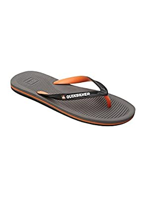 Quiksilver Men's Haleiwa Sandal,Grey/Black,6 M US