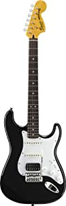 Squier by Fender Vintage Modified Stratocaster HSS Electric Guitar, Rosewood Fingerboard, Black
