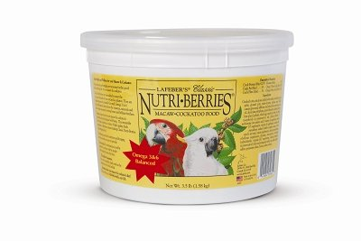 Cheap Brand New, LAFEBER COMPANY – MACAW NUTRI BERRIES 3.5 LB (BIRD PRODUCTS – BIRD – TREATS) (MSSLF81662-LT 1)