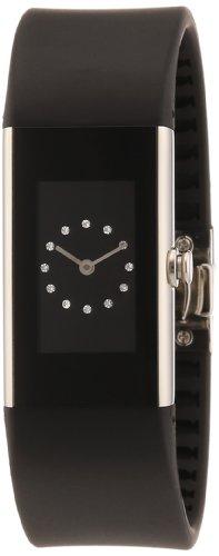 Rosendahl Watch II 43183 - Reloj de mujer de cuarzo, correa de goma color negro