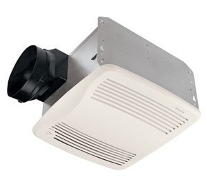 Broan-Nutone QTXEN110S Ultra Silent Humidity Sensing Bathroom Fan - ENERGY STAR