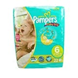 Pampers Baby Dry Nappies Extra Large Carry Pack 24