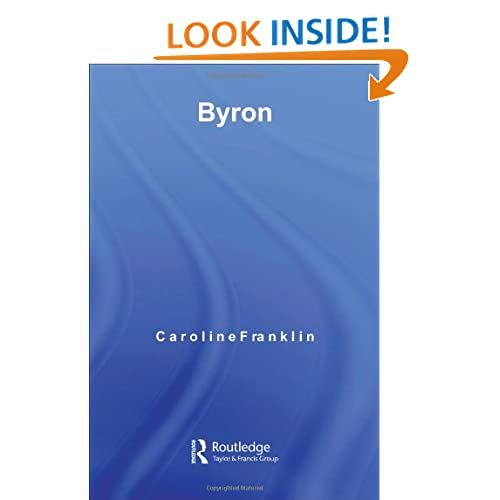 Byron (Routledge Guides to Literature)