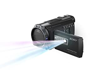 Sony HDRPJ760V High Definition Handycam 24.1 MP Camcorder with 10x Optical Zoom, 96 GB Embedded Memory and Built-in Projector (2012 Model)