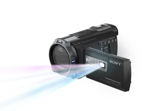 Sony HDRPJ710V High Definition Handycam 24.1 MP Camcorder with 10x Optical Zoom, 32 GB Embedded Memory and Built-in Projector (2012 Model)