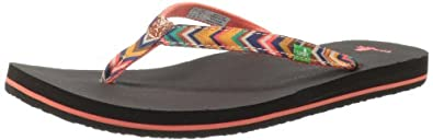 Buy Sanuk Ladies Maritime Funk Flip Flop by Sanuk