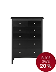 Hastings 4+2-Drawer Chest