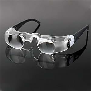 MaxTV Binocular TV Screen Magnifying Glasses Focusing Glasses Magnifier for Low Vision