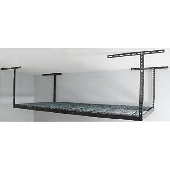 Monsterrax - 4x8 Overhead Garage Storage Rack Heavy Duty (24