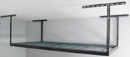 Heavy Duty Overhead Storage Rack Idea 1 Garage Shelves