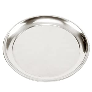 ... : Norpro 13-1/2-Inch Pizza Pan: Stainless Pizza Pan: Kitchen & Dining