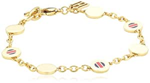 Tommy Hilfiger jewelry Damen Armband Edelstahl Emaille 190.0 mm 2700472