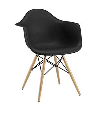 Modway Wood Pyramid Arm Chair