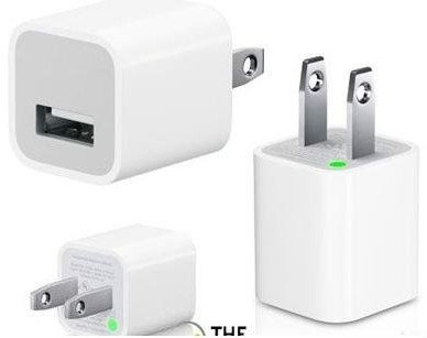 1 Piece FREE SHIPPING USB Charger Power adapter Wall AC Charger for ipod iphone 4