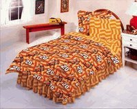 7 Piece Queen Size Tony Stewart #20 Bed Set - NASCAR Bedding Set by NASCAR