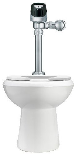 Sloan WETS-2000.1201 High Efficiency Toilet features a solar-powered, sensor-ope islamic banking efficiency
