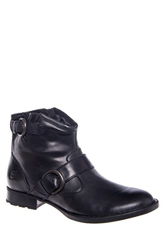 Raisa Low Heel Ankle Bootie