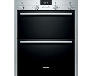 Siemens IQ-100 HB43NB520B Built Under Double Oven - Stainless Steel. It Will Perfeclty Look Great Built Into Your Kitchen