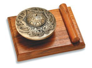 Chime, Table; Zen, Embossed Dragon