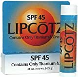 Total Block SPF 45 LIPCotz - 4.5 gm