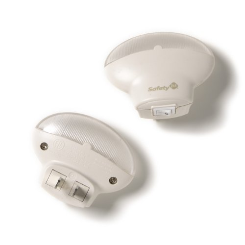 Safety 1st 2 Pack Cool Touch LED Nightlight