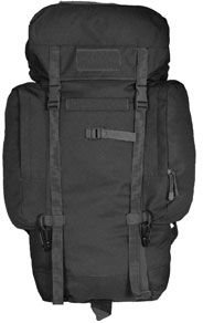 Black Rio Grande Backpack (75L)