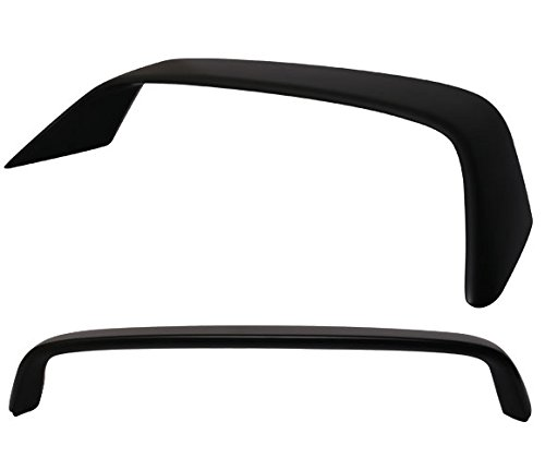 ABS JDM Black 94-01 Acura Integra DB8 DC2 Type R 3D Hatchback Trunk Spoiler Wing (Integra Type R Wing compare prices)