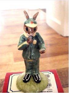 Royal Doulton Bunnykins figure 'Stopwatch' Bunnykins