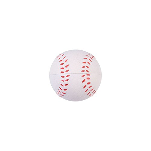 Lot of 12 Foam Baseball Stress Relief Squeezable Balls Party Favors - 1