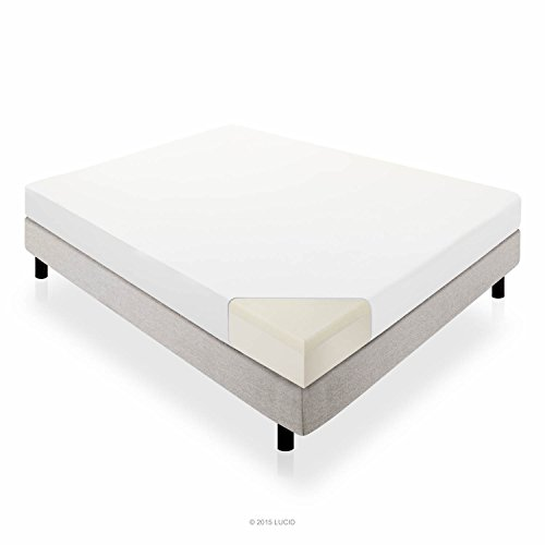 Lucid 10-Inch Memory Foam Mattress, Dual-Layered, CertiPUR-US Certified, 25-Year Warranty, Queen