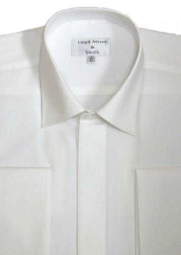 Standard Collar Formal Dress Shirt Ivory