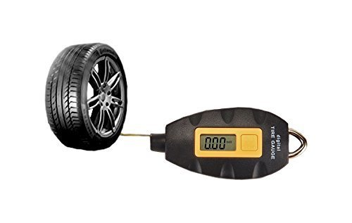 KING Digital Tire Pressure Gauge -Keychain Hookable-Tpmc- LED Screen-For Cars, Trucks, Motorcycles and Bike-4 Ranges (Fuel Pressure Gauge Lighted compare prices)