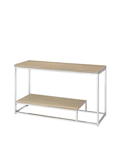 Fox Hill Trading Millennial Collection Hansen Console, Light Wood As You See
