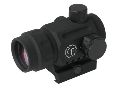 CenterPoint Optics 72609 Small Battle Sight 1x20mm Enclosed Reflex with Red Dot by Greys Distribution