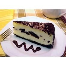 Love and Quiches Oreo Authentic Cookies N Cream Cheesecake, 5.31 Pound -- 2 per case.