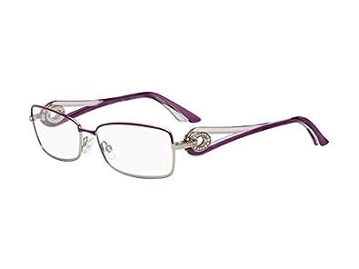9c32a855b5f215 DIOR Monture lunettes de vue 3754 STRASS 0O71 Rose cyclamen et Doré 55MM