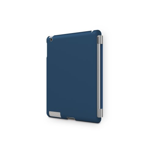 iLuv Flexi-Gel Case for iPad 2 Smart Cover (iCC822NVY)