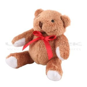 Plush toys Cute Cartoon Teddy Bear 32 GB USB Memory Stick Flash Pen Drive Keychain by T &  J