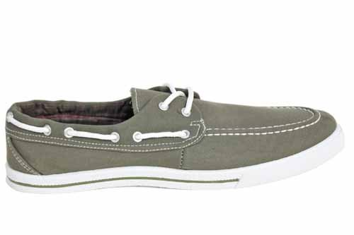Mens Canvas Flat Lace Up Summer Espadrilles Boat Shoes Size UK 6 7 8 9 10 11 12