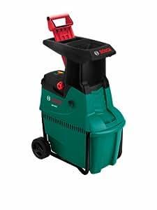 Bosch Broyeur silencieux de végétaux AXT 25 D avec bac de ramassage 53 L 0600803100