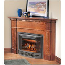 BGD33NR Rear Vent Direct Vent Gas Fireplace Finishing Option: Contour