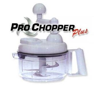 Pro Chopper Plus with Tri Blade Technology