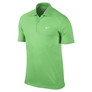 2014 Nike Victory Golf Polo Shirt-Lucid Green-Medium