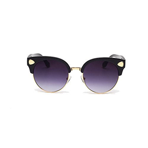 Double FNT Women's Fashion Retro Cateye Colored Wayfarer Driving Wayfarer Sunglasses