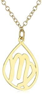 Kris Nations Virgo Gold Necklace